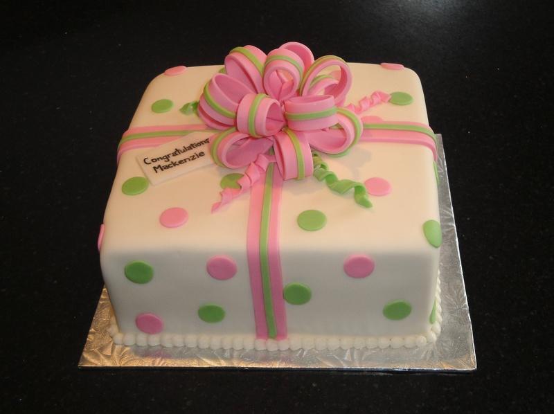 Confirmation Present Cake