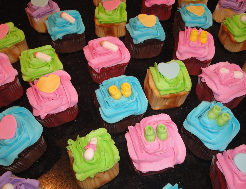 CoOperators  Baby Shower Cupcakes