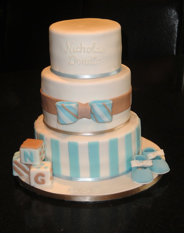 3 Tiered Baby Shower cake