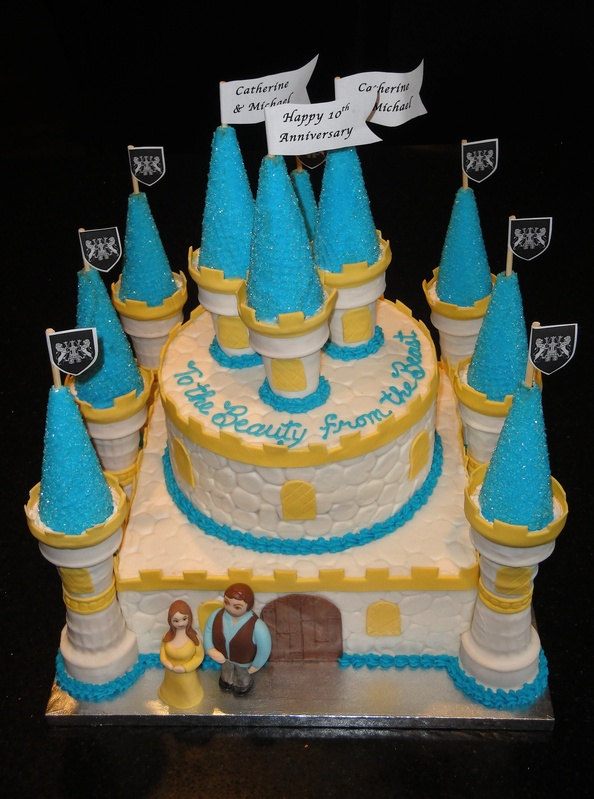 Beauty and the Beast Anniversary Princess Castle