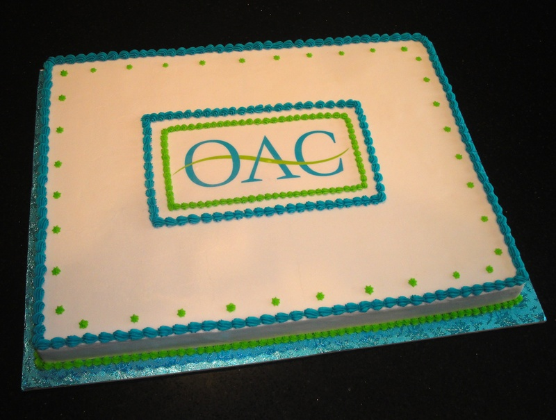 OAC Guelph 140th Birthday Cake