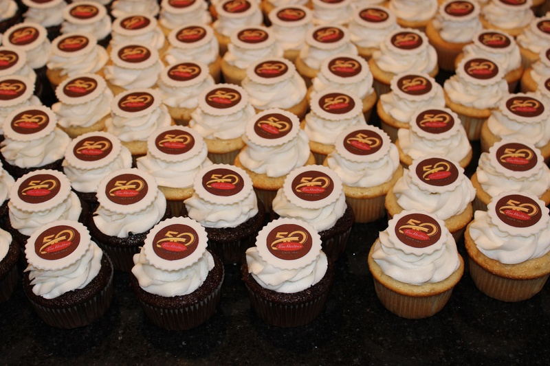 Tim Hortons 50th Anniversary Cupcakes